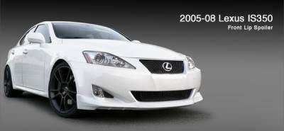 3dCarbon - Lexus IS 3dCarbon Front Lip Spoiler - 691601