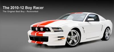 3dCarbon - Ford Mustang 3dCarbon Boy Racer Body Kit - 4PC - 691613
