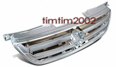 Custom - Front Grille - Chrome - 1PC