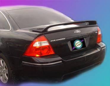 California Dream - Ford Taurus California Dream Custom Style Spoiler with Light - Unpainted - 220L