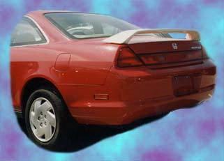 California Dream - Honda Civic 2DR California Dream Custom Style Spoiler with Light - Unpainted - 26L