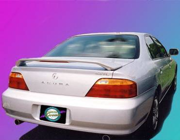 California Dream - Acura TL California Dream Custom Style Spoiler with Light - Unpainted - 27L