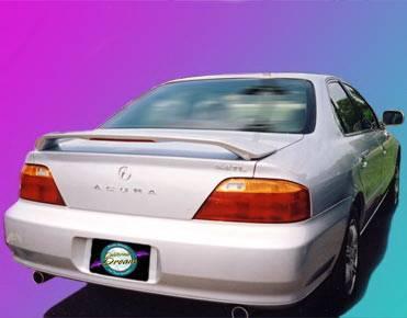California Dream - Acura TSX California Dream Custom Style Spoiler with Light - Unpainted - 27L