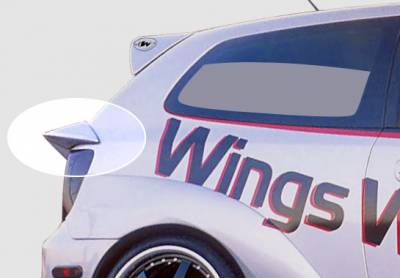 Wings West - W-Typ Mid Wind Hatch Spoiler