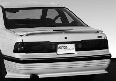 Wings West - 3-Leg California Led Light Spoiler