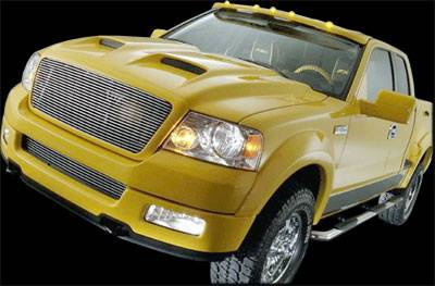 APM - Ford F150 APM Plastic G-Force Power Functional Hood - Painted - 801080