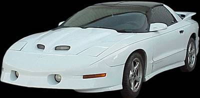 APM - Pontiac Trans Am APM Fiberglass WS6 Style Functional Hood - Painted - 811200
