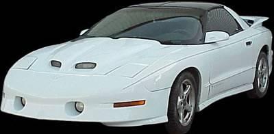 APM - Pontiac Trans Am APM Fiberglass WS6 Style Functional Hood - Primed - 811202
