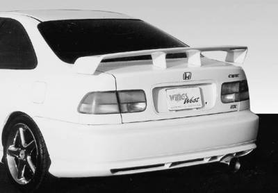 Wings West - Touring Style Led Light Spoiler