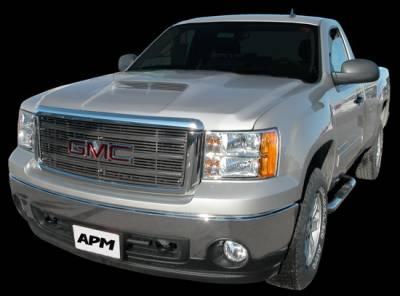 APM - GMC Sierra APM Fiberglass Functional Hood - Painted - 811390