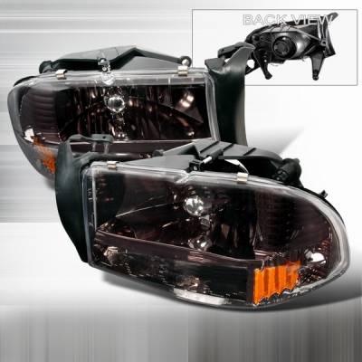 Custom Disco - Dodge Durango Custom Disco Headlights - 2LH-DAK97G-ABM
