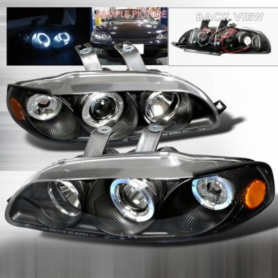 Custom Disco - Honda Civic Custom Disco Projector Headlights - 2LHP-CV923JM-YD