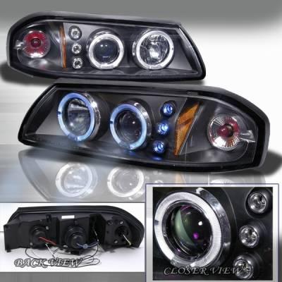 Custom Disco - Chevrolet Impala Custom Disco Projector Headlights - 2LHP-IPA00JMB-TM