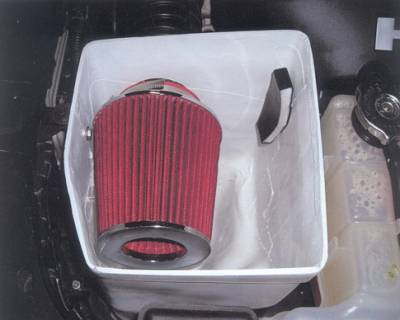 APM - Dodge Charger APM Air Intake Box with Filter - Style 1 - 821254