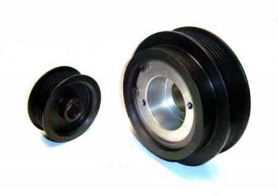 Auto Specialties - Auto Specialties Crank Pulley with 25 Percent Reduction - Full Charge 1000 - Nitride - 924372