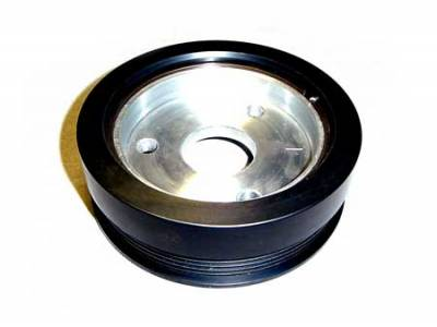 Auto Specialties - Auto Specialties Harmonic Balancer Pulley with 23 Percent Reduction - Full Charge 800 RPM - Nitride - 945100