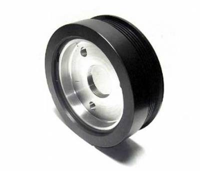Auto Specialties - Auto Specialties Crank Pulley with 22 Percent Reduction - Full Charge 800 RPM - Nitride - 945800
