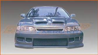 Bayspeed. - Honda Accord 4DR Bayspeed Black Widow Style Full Body Kit - 8134BW, 1144BW, 3020BW
