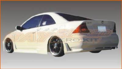 Bayspeed. - Honda Civic 2DR Bay Speed Octane Rear Bumper - 3030SR