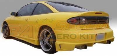 Bayspeed. - Chevrolet Cavalier Bay Speed Drift Style Rear Bumper - 3063DR