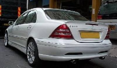 Bayspeed. - Mercedes-Benz C Class Bay Speed L-Style Rear Bumper - 3068L