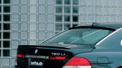 Wald - E65 Rear Trunk Lid Spoiler