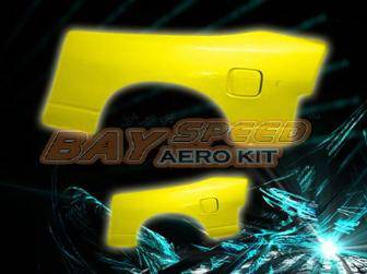 Bayspeed. - Nissan 180SX Bay Speed Origina Style Rear Fender - 50mm - 3072DSRF-5M