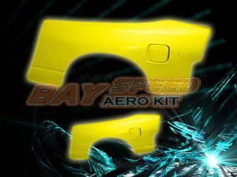 Bayspeed. - Nissan 180SX Bay Speed Origina Style Rear Fender - 50mm - 3072DSRF-5M