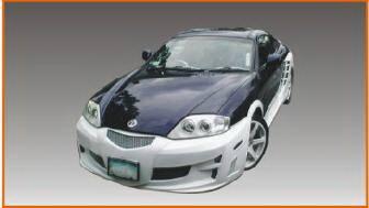 Bayspeed. - Hyundai Tiburon Bayspeed SC2 Style Full Body Kit - 8277SC2 1177SC2 3077SC2