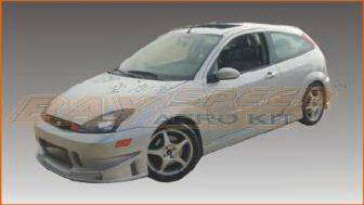 Bayspeed. - Ford Focus ZX3 Bayspeed BSD2 Style Mixed Full Body Kit - 8987BC, 1187SR, 3087B