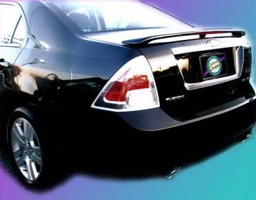 California Dream - Mercury Milan California Dream Custom Style Spoiler with Light - Unpainted - 332L