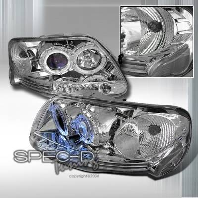 Custom Disco - Ford F150 Custom Disco Projector Headlights - 1PC - 3LHP-F150971PC-KS