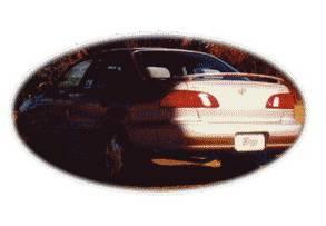 California Dream - Toyota Corolla California Dream OE Style Spoiler with Light - Unpainted - 40L