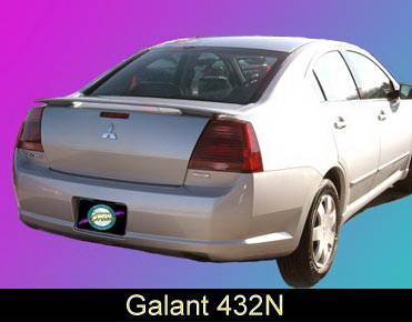 California Dream - Mitsubishi Galant California Dream Custom Style Spoiler - Unpainted - 432N