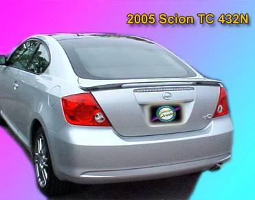 California Dream - Scion Tc California Dream Custom Style Spoiler - Unpainted - 432N