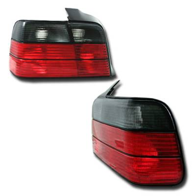 Custom - Smoked and Red Tail Lights 4D