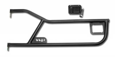 Warrior - Jeep Wrangler Warrior Deluxe Tube Door with Paddle - 90771
