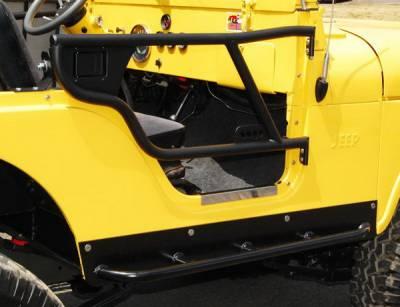 Warrior - Jeep Wrangler Warrior Tube Door - 90854