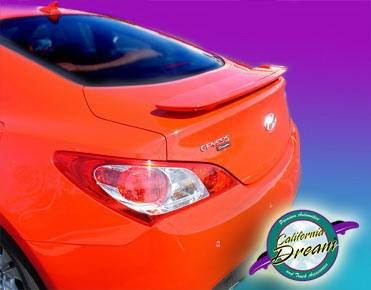 California Dream - Hyundai Genesis California Dream Custom Style Spoiler - Unpainted - 508N
