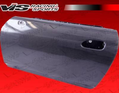 VIS Racing - Honda S2000 VIS Racing OEM Style Carbon Fiber Door - Pair - 00HDS2K2DOE-025C
