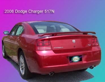 California Dream - Dodge Charger California Dream Custom Style Spoiler - Unpainted - 517N