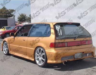 VIS Racing - Honda Civic HB VIS Racing Techno R Door Panels - 88HDCVCHBTNR-005