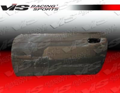 VIS Racing - Nissan 240SX VIS Racing OEM Style Carbon Fiber Door - Pair - 95NS2402DOE-025C