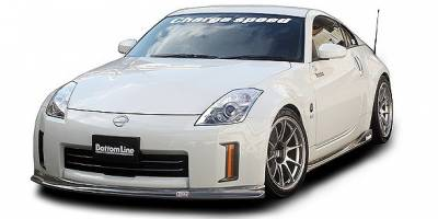 Chargespeed - Nissan 350Z Chargespeed Bottom Line Full Lip Kit - 5PC
