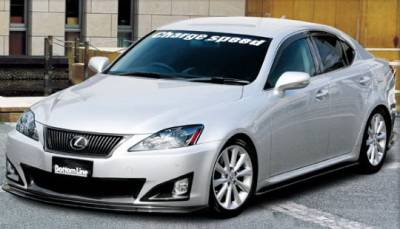 Chargespeed - Lexus IS Chargespeed Bottom Line Full Body Kit - 5PC