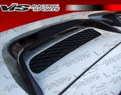 VIS Racing - Porsche 911 VIS Racing D3 Rear Engine Intake Scoops Carbon - 05PS9972DD3-052C