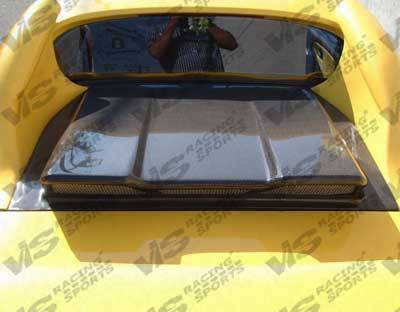 VIS Racing - Toyota MR2 VIS Racing Techno R Carbon Fiber Engine Lid - 90TYMR22DTNR-021C