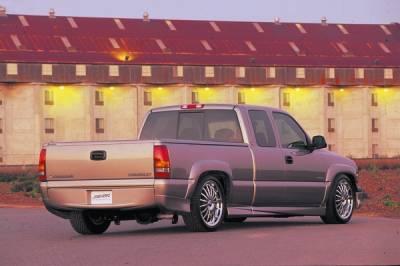 Xenon - Chevrolet Silverado Xenon Style Fender Flare Kit - 4210