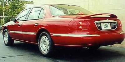 California Dream - Lincoln Continental California Dream Custom Style Spoiler with Light - Unpainted - 73L