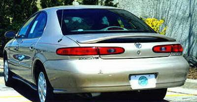 California Dream - Mercury Sable California Dream OE Style Spoiler - Unpainted - 73N